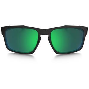 38be64de624 Oakley SLIVER F Sunglasses Matte Black Ink - Jade Lens - Fold-able Metal  Case