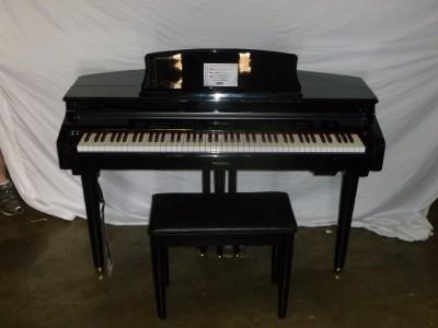 new suzuki mdg 100 micro grand digital piano 88 keys 3 foot pedals ebay. Black Bedroom Furniture Sets. Home Design Ideas
