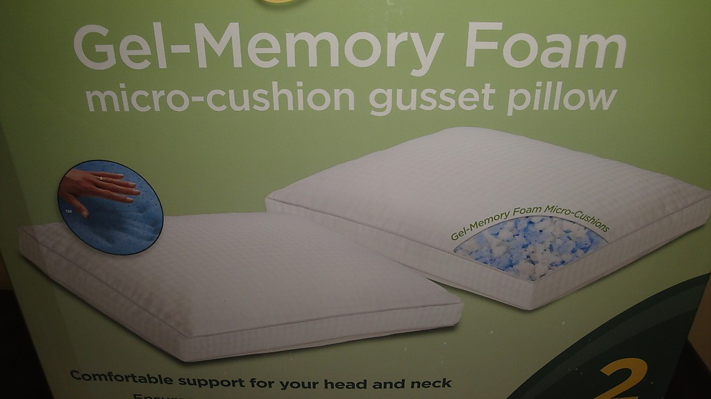 Details About New Novaform Pure Comfort Memory Foam Gel