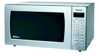 New Panasonic 1 6 Cu Ft Genius Prestige Microwave Nn Sn797s