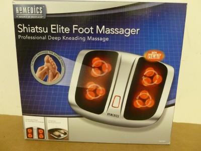 New Homedics Shiatsu Elite Foot Massager Model FMS 200HA
