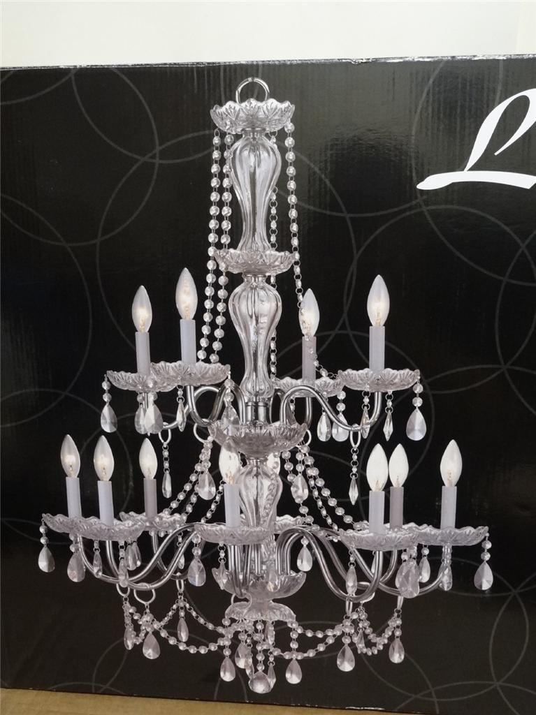 New Luciana 12 Light Chandelier By Design Solutions