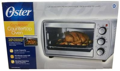 New Oster Convection Counter Top Toaster Oven Stainless