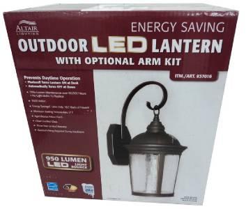 Envirolite Altair Led Lantern Light Fixture 10 5 Watts