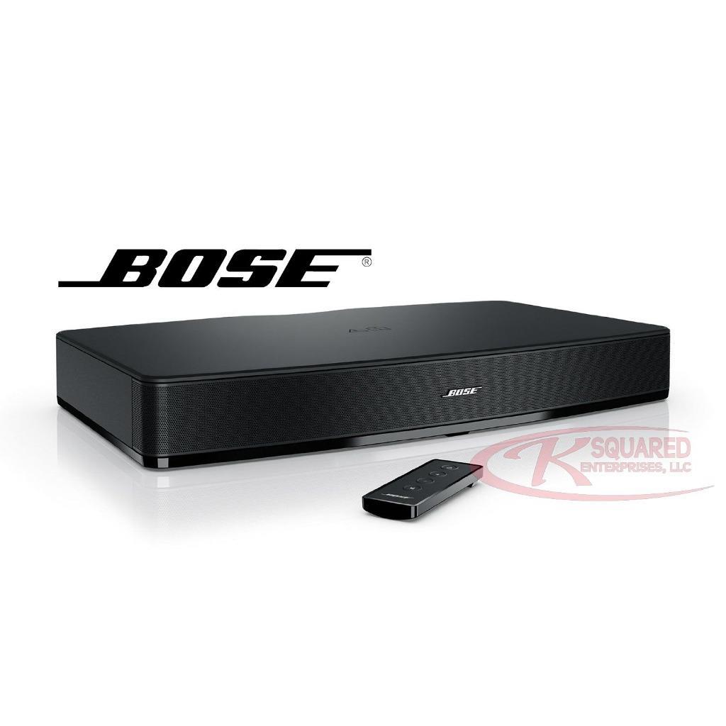 mint bose solo 10 tv sound system w remote analog r l. Black Bedroom Furniture Sets. Home Design Ideas