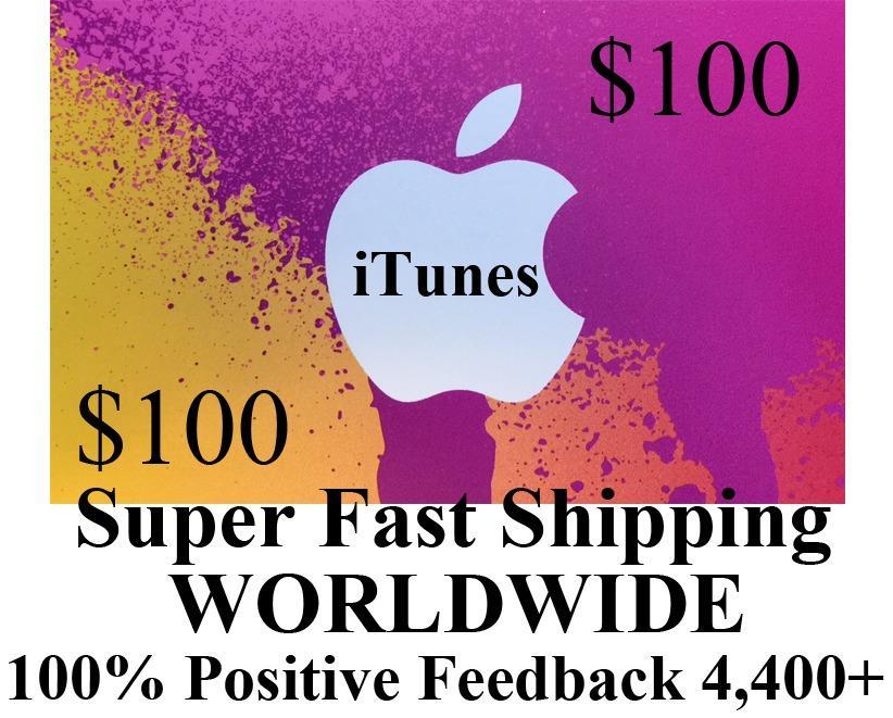 100 Tarjeta De Estados Unidos De Itunes App Store De Apple