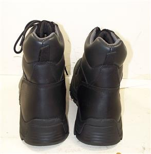 8615aaa60d2 Details about 959TT Mens American Worker Stealth Comp Toe Lace Up Work  Boots 10 1/2 E W