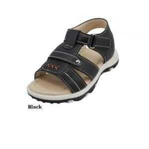 INFANT TODDLERS BOYS OPEN TOE SANDALS  BLACK BROWN SIZE 5 6 7 8 9