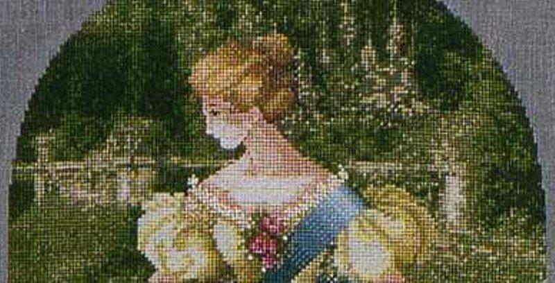 Lavender & Lace QUEEN ANNE'S LACE Cross Stitch Pattern
