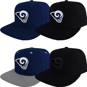 aa26cc9e364 Los Angeles Rams Snap Back Cap Hat Embroidered Adjustable Flat Bill ...