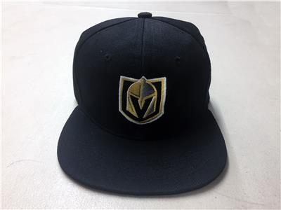 f50c1394 Details about Las Vegas Golden Knights Snap Back Cap Hat Embroidered  Adjustable Flat Bill