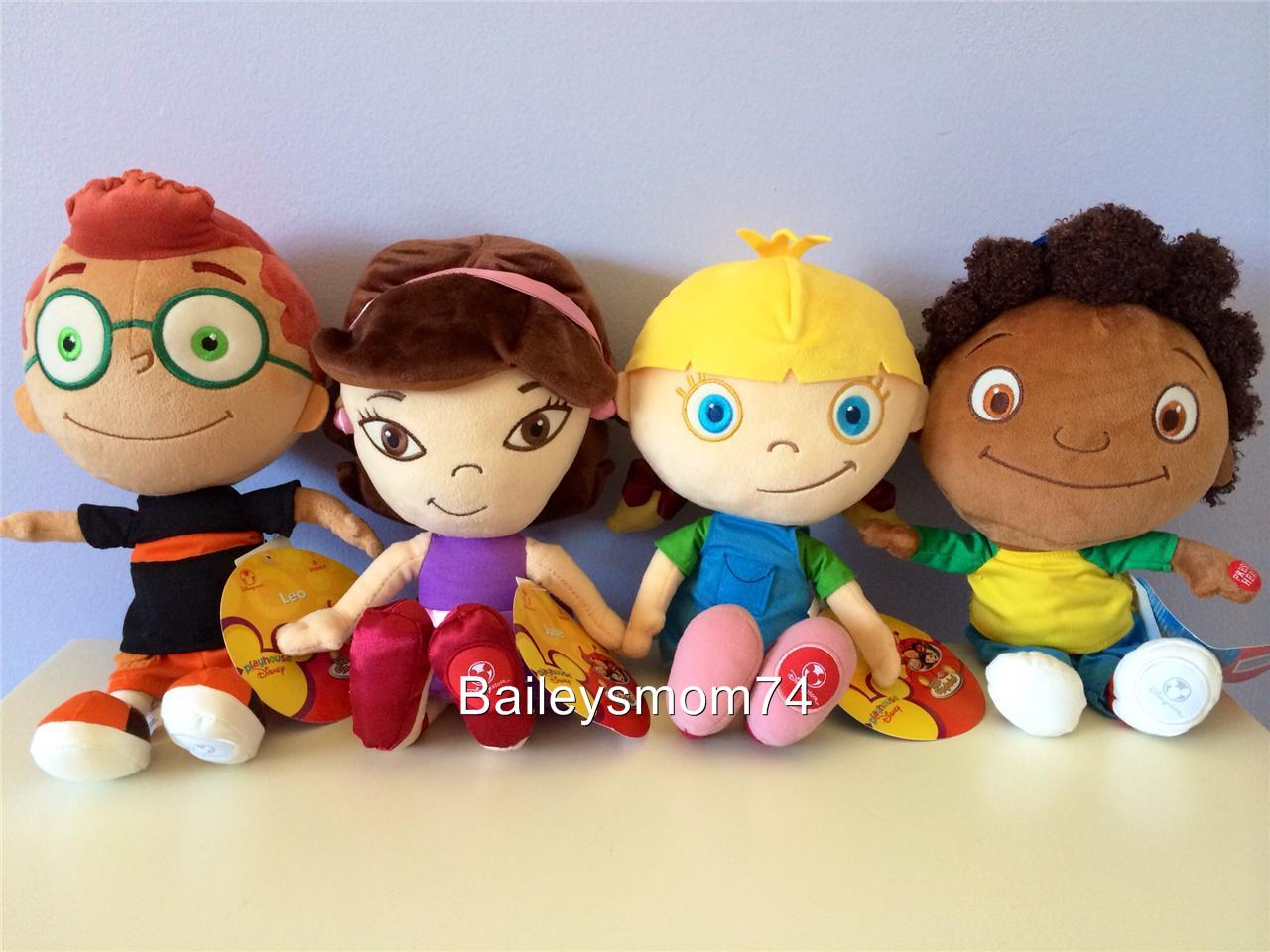 Uncategorized Quincy Little Einsteins new little einsteins leo june quincy annie talking dolls stuffed disney store