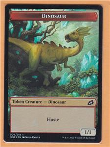 Ikoria: Lair of Behemoths Dinosaur Beast Token