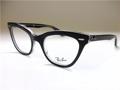 94d6f8f283b cheapest ray ban cats 5226 color 2034 black on transparent c3be9 74646