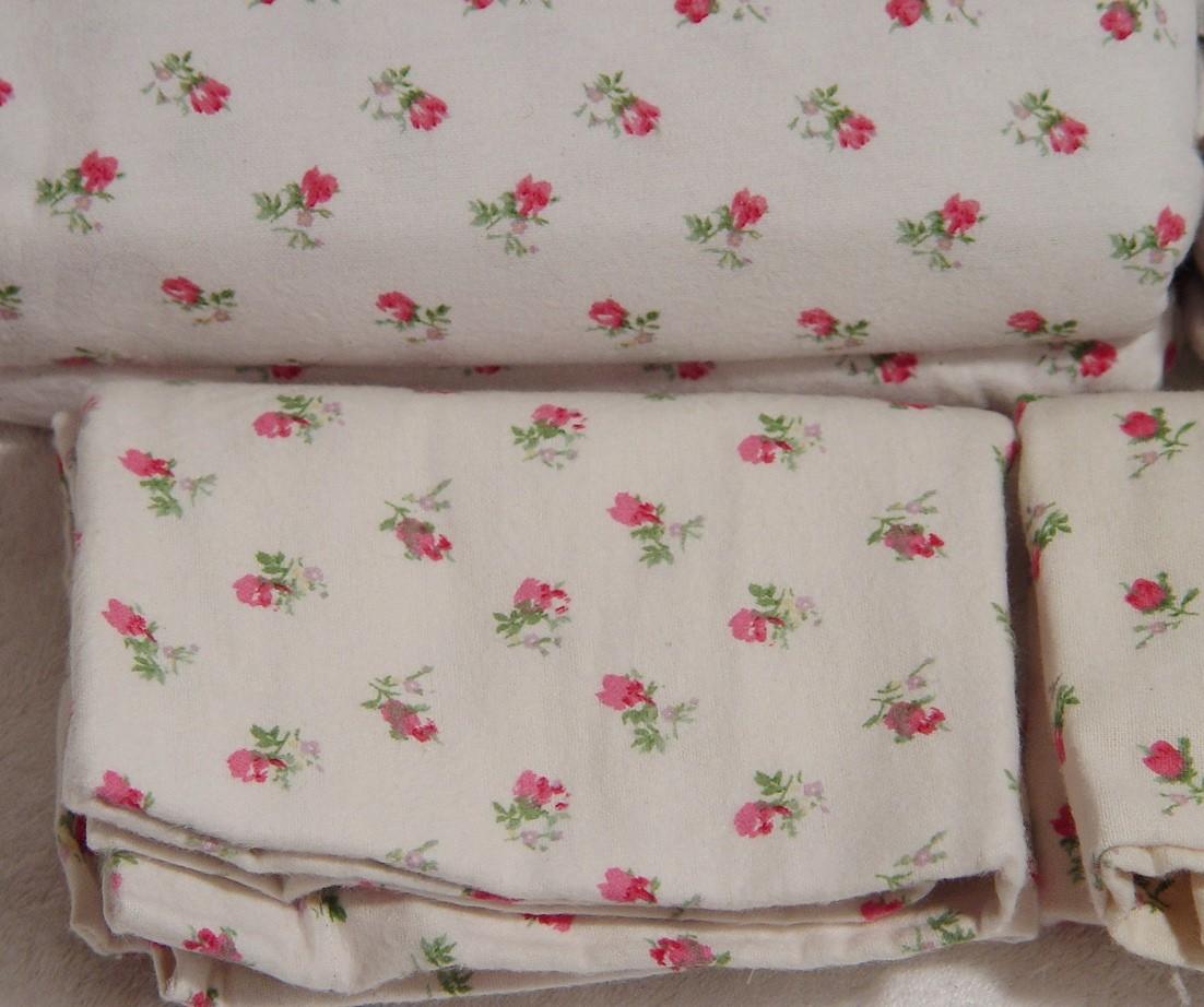 Laura Ashley Flannel Queen Sheet Set