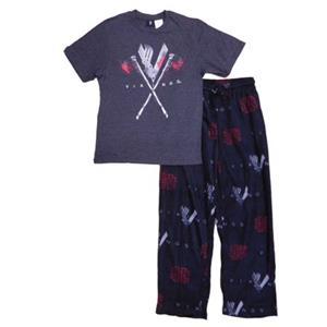 Men/'s  2 Piece Pajama PJ Set ~ VIKINGS VIKING  ~  Men/'s S  L  XL   ~ NEW