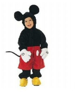 DISNEY STORE. MICKEY MOUSE HALLOWEEN COSTUME  sc 1 st  eBay & DISNEY STORE ~ MICKEY MOUSE RETIRED Halloween Costume ~ 6 to 12 ...