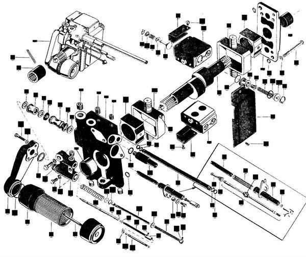 mf35 mf50 65 85 tractor hydraulic hyd filter element 521451m1