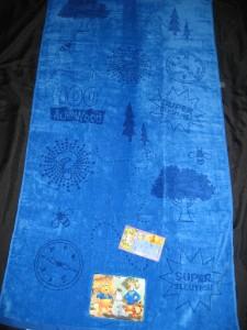 2 Jay Franco Disney TIGGER POOH Super Sleuth BEACH TOWEL Eeyore Pool Bath Blue