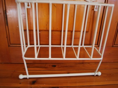 Metal Toilet Roll Tower Paper Holder Magazine Rack Ebay