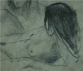 Sketches of beautiful nude women consider, that