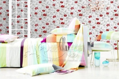 45cm x 10m Roll Vintage Style Flower Vinyl Furniture Wall Paper Sticker p1307