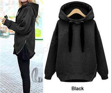 AU SELLER Women/'s Hoodie Pullover Jacket Jumper Sweater Tops Fleece Coat T029