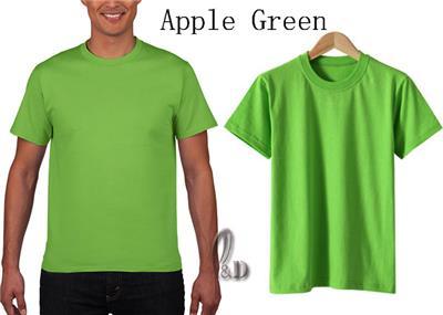 AU SELLER Kids to Adult Unisex 100/% Cotton Plain Basic T-Shirt kt002