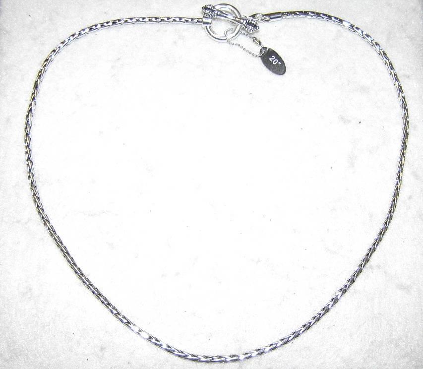 Davinci Charm Bracelet: DaVinci Removable Toggle Bead Charm Necklace Sterling