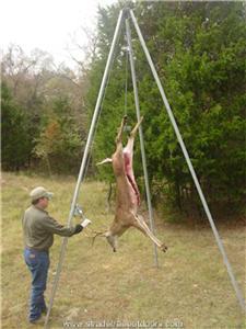 Deer Feeder Tripod Winch Header Bail For 55 Gallon Barrel