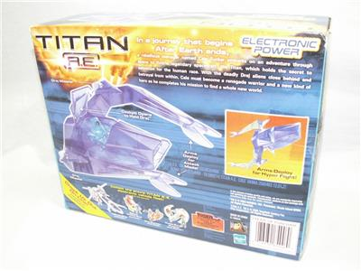 Drej Stinger /& Fighter Pilot Drej Figure New in Box hard to find Battle Action Sons Titan A.E
