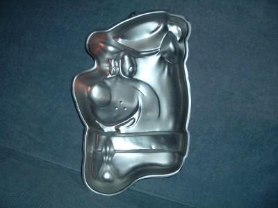 Yogi Bear Face Wilton Vintage Cake Pan 1975 502 178 16x10