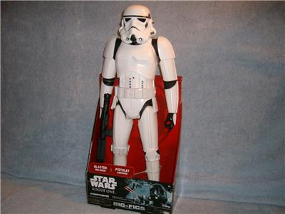 Star Wars Rogue un Stormtrooper Big Grande Figurine Avec Blaster 18/""