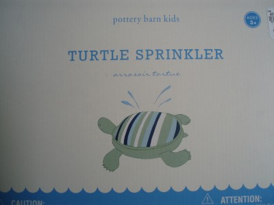 Pottery Barn Kids Turtle Shaped Sprinkler Summer Fun
