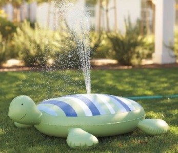 Pottery Barn Kids Turtle Shaped Sprinkler Summer Fun