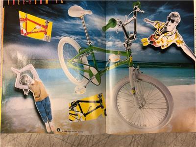 1988 Schwinn PREDATOR freestyle BMX vintage CATALOG  16 pages of 1980/'s cool YO