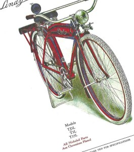 """classic 1920/'s Shelby /"""" THE LINDY /"""" CATALOG copy antique bike bicycles"""
