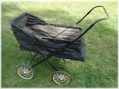 Antique Baby Carriage Stroller Lounger Collapsible Ebay