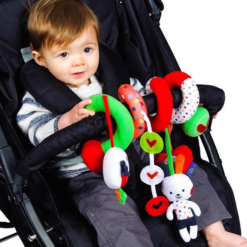 spiraloo b b si ge auto jouet activit tordu landau poussette poussette b b jouet neuf ebay. Black Bedroom Furniture Sets. Home Design Ideas