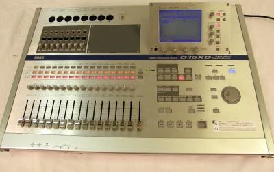 korg d16xd 16 track digital recorder d 16xd cd rw daw mixer ebay. Black Bedroom Furniture Sets. Home Design Ideas