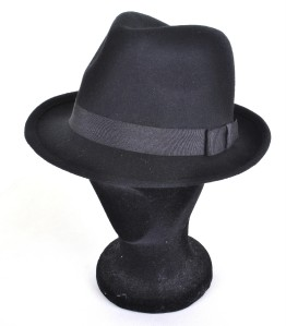 MENS GENTS VTG 40s//50s Style Felt Trilby Hat BNWT//NEW 100/% Wool Fedora S//M 57CM