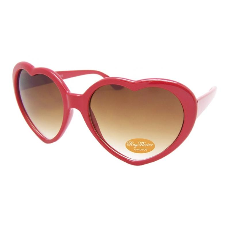 993a69acb3 VINTAGE 70s Style Red Heart Saped Novelty Sunglasses Glasses Retro ...