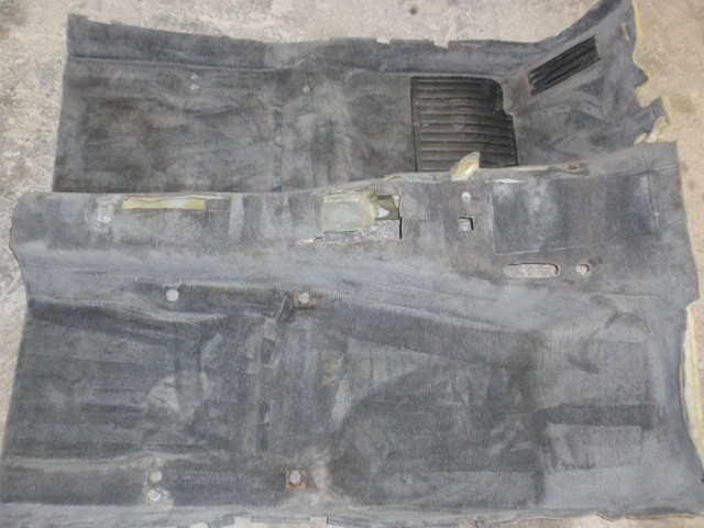 Charcoal coupe/sedan carpet in EXCELLENT condition $125