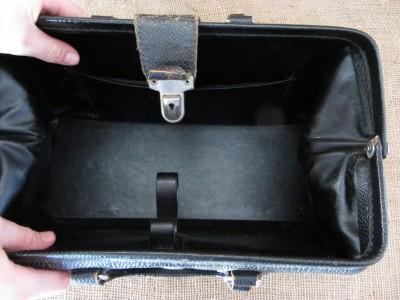 Vintage Leather Doctor Bag Antique Bags Old Medicine Homa Kruse 6788
