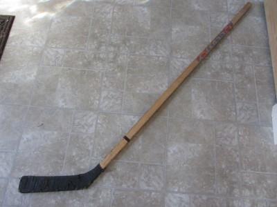 Vintage Wooden Lund Hockey Stick > Antique Old Rock Elm ...