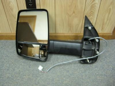 03 12 Ford Econoline Van RV Cutaway Chasis Velvac LH Power Towing Mirror