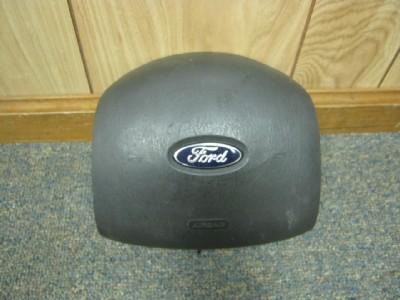 04 08 Ford Econoline Van Dark Gray Drivers Side Air Bag Steering Wheel