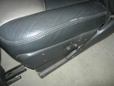 99 06 GMC Sierra Chevy Silverado Z71 Extended Cab Gray Leather Bucket Seats