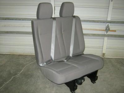 Nissan Nv Passenger >> 2012, 2013 Nissan NV Van 2nd 3rd 4th Row 2 LH Passenger Gray Cloth Bench Seat!! | eBay