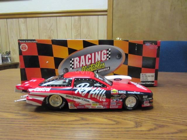 1997 1 24 rcca roy hill ford roy hill 39 s drag racing school nhra pro stock car ebay. Black Bedroom Furniture Sets. Home Design Ideas